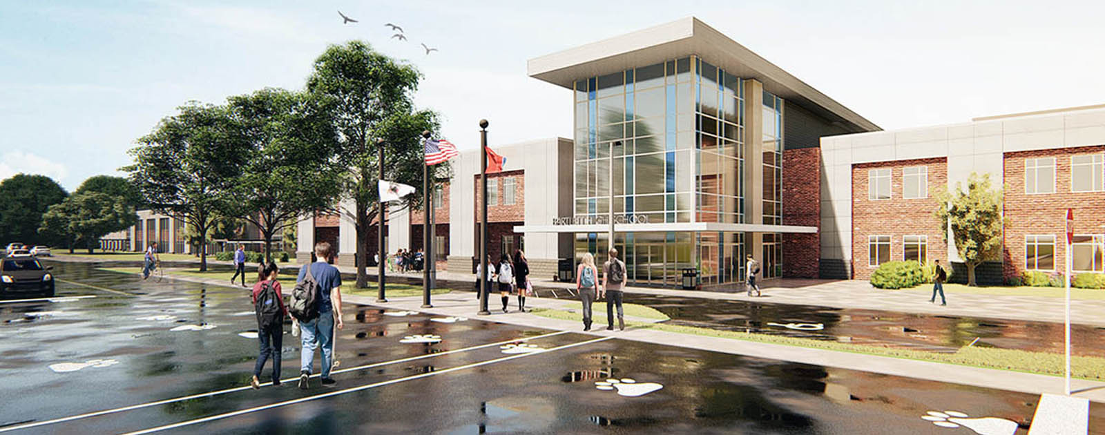 Cafeteria and Auditorium Among Newest Bartlett High Additions
