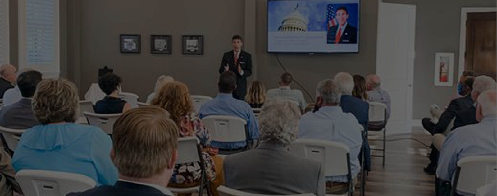 "Congressman David Kustoff Speaks at the Collierville Chamber of Commerce's ""Next Normal Community Leaders Forum"""
