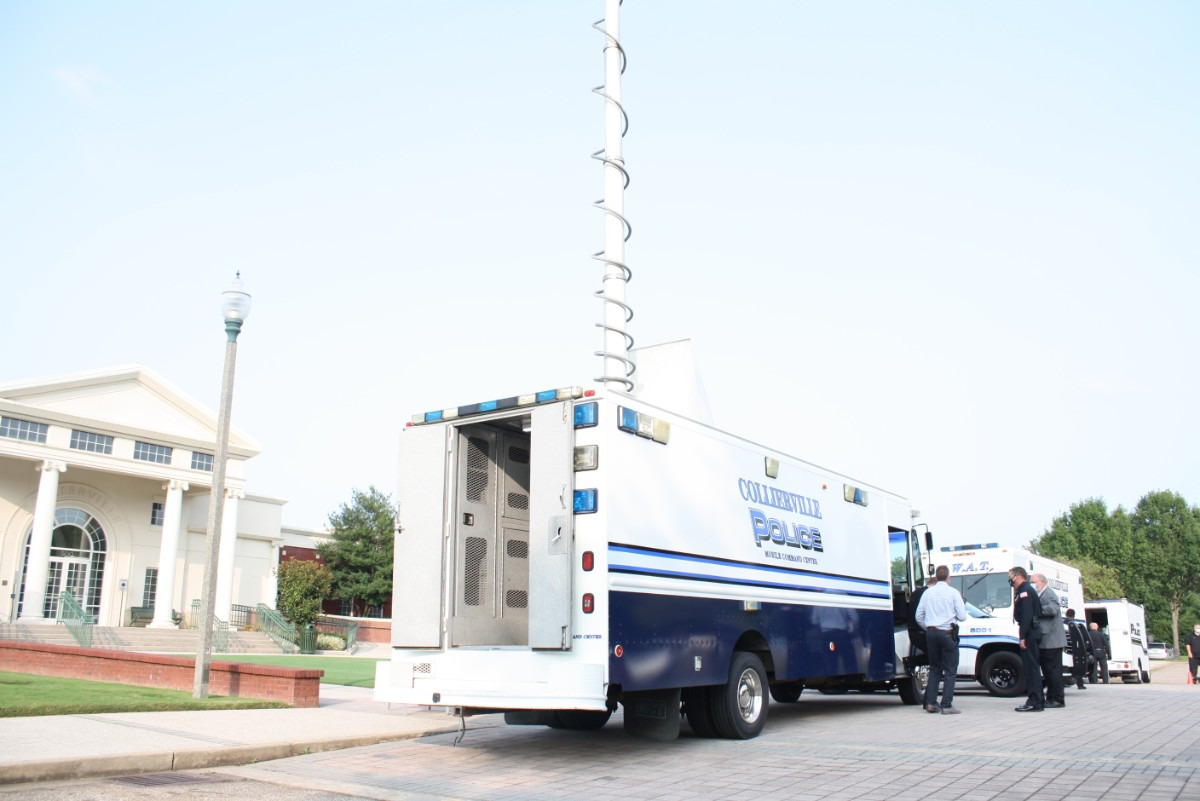 Collierville police nab resources including a drone, mobile command units